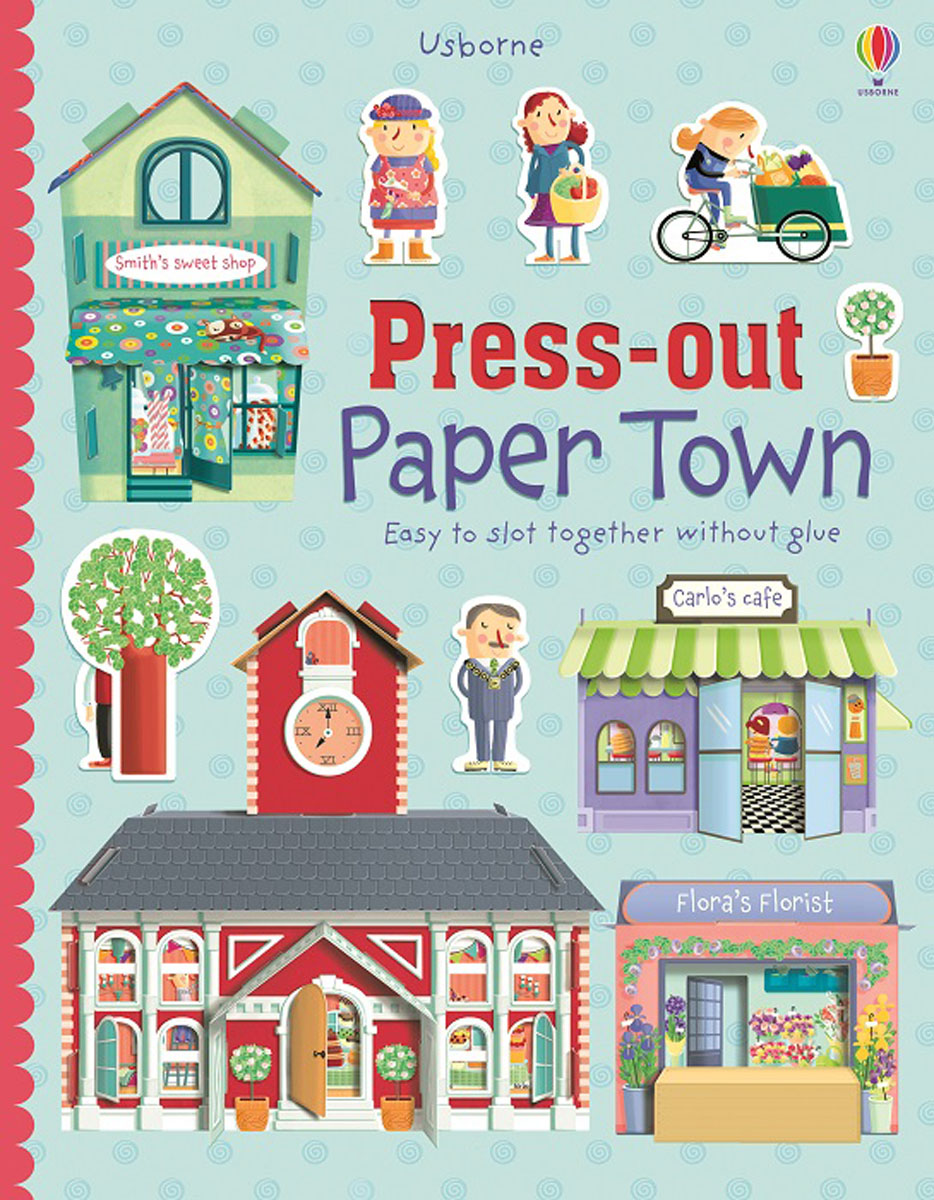 Press-out Paper Town rdr cd [green a1 ] town mouse and the