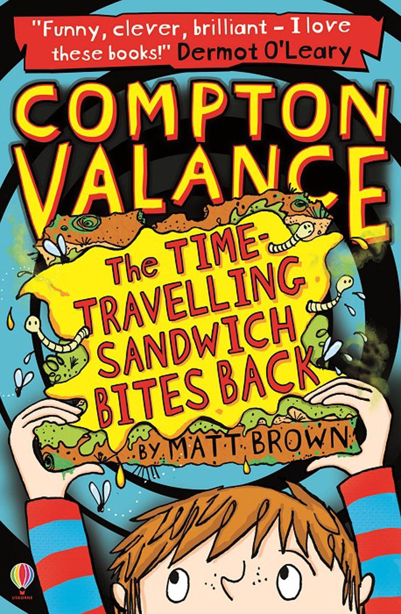 Compton Valance The Time-travelling Sandwich Bites Back ralph compton ride the hard trail