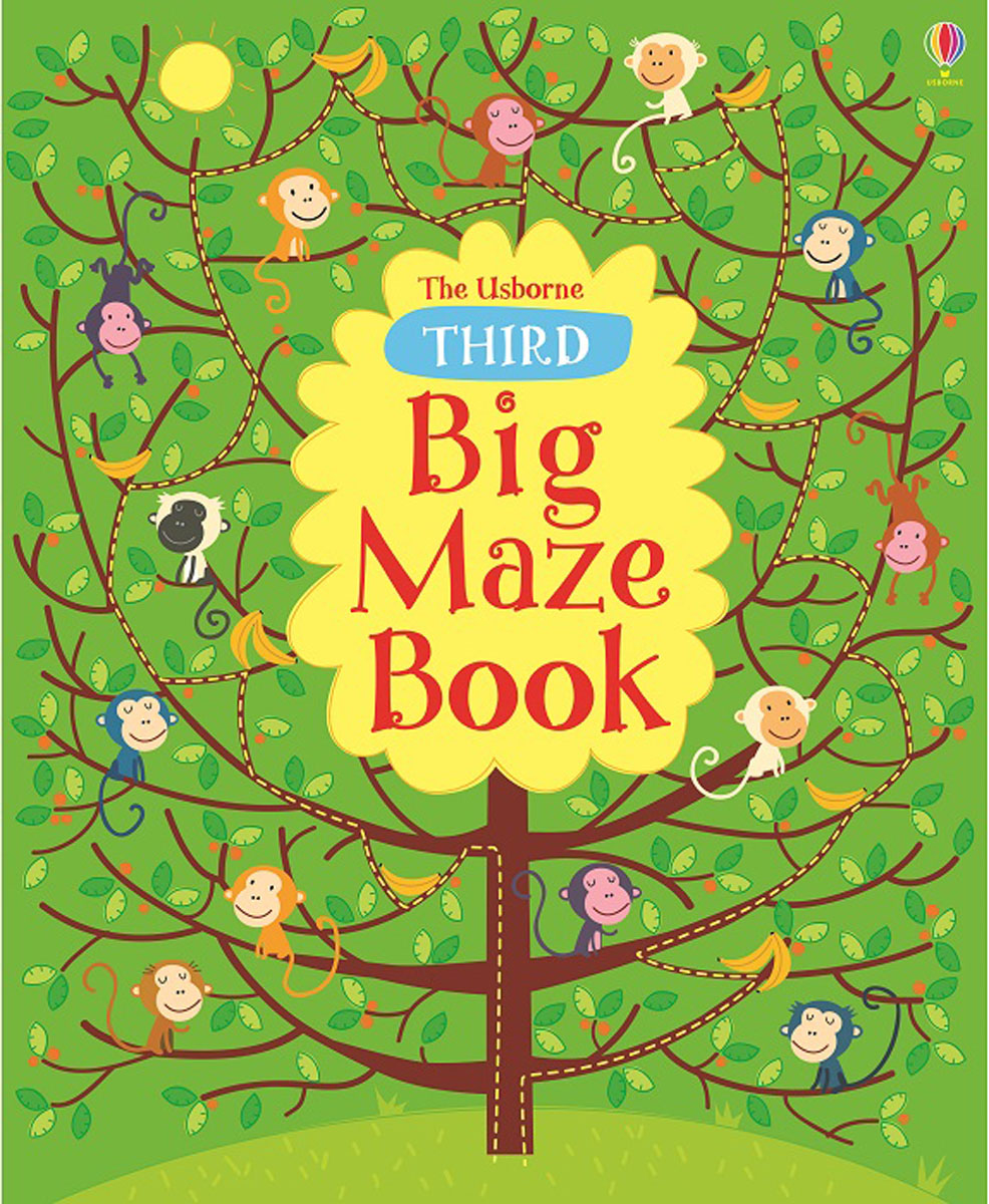 Third Big Maze Book map maze book