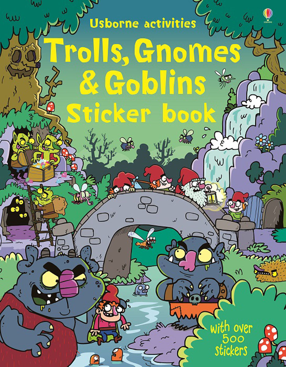 Trolls, Gnomes & Goblins Sticker book ingri d aulaire d aulaires book of trolls