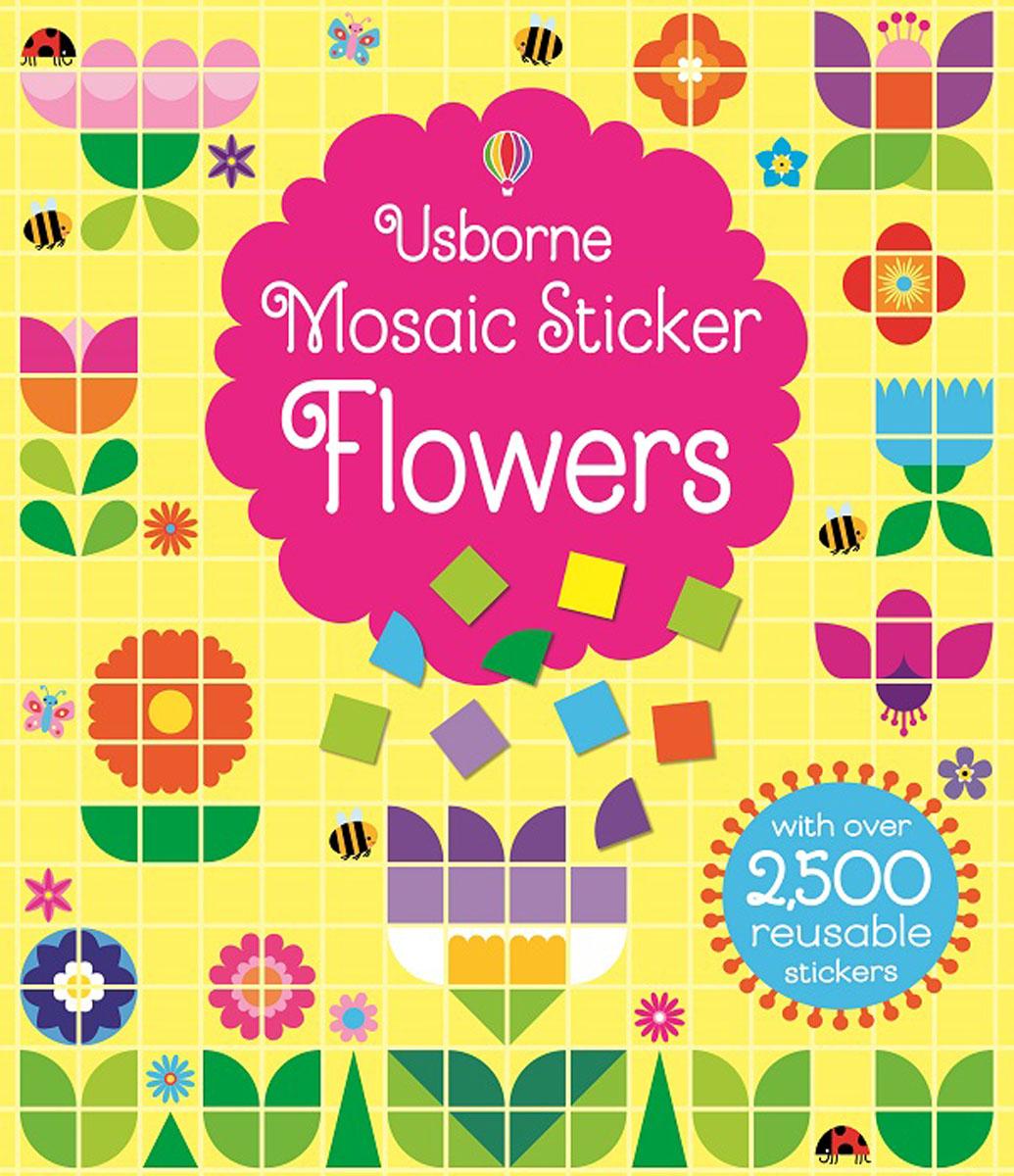 Mosaic Sticker Flowers simple flowers