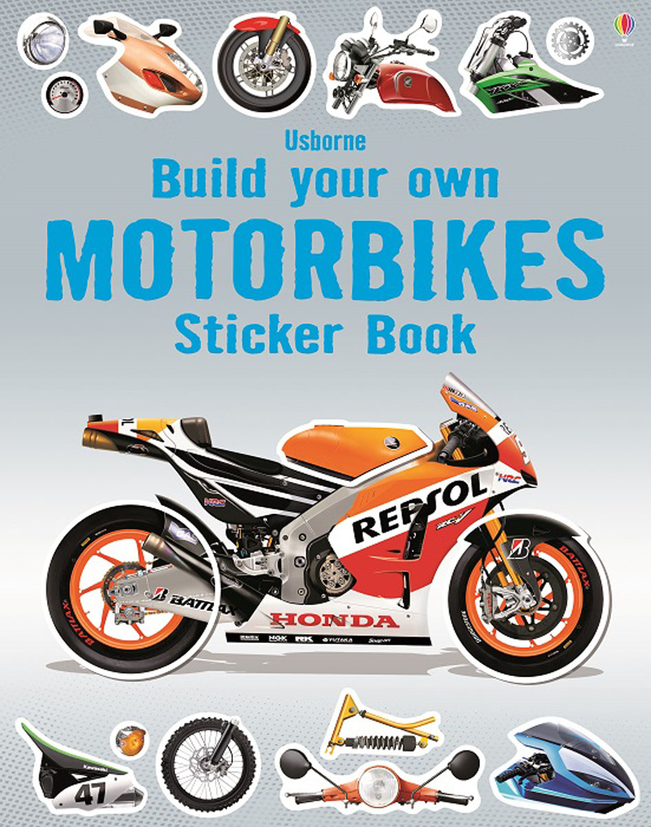 Build Your Own Motorbikes Sticker Book write your own book