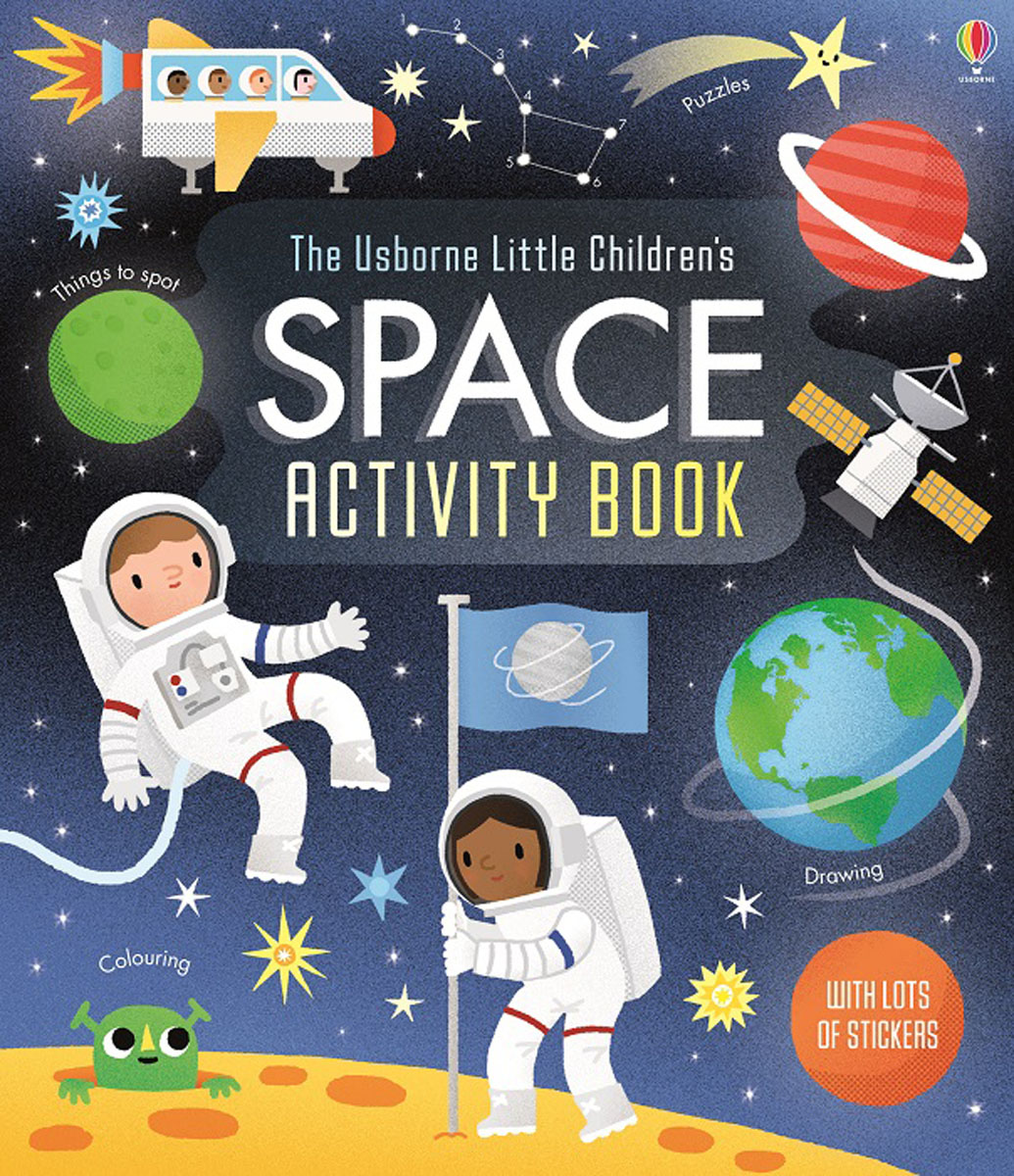 Little Children's Space Activity Book the usborne terrific colouring and sticker book