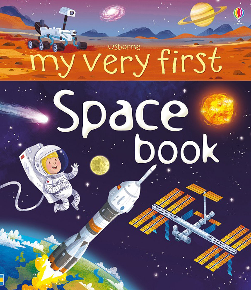 My Very First Space Book italian visual phrase book