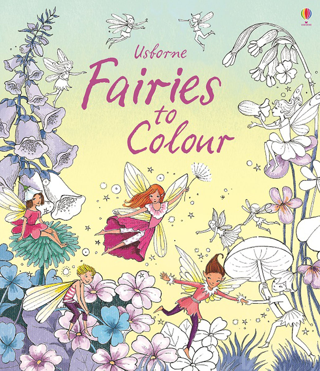 Fairies to Colour how to draw fairies and mermaids