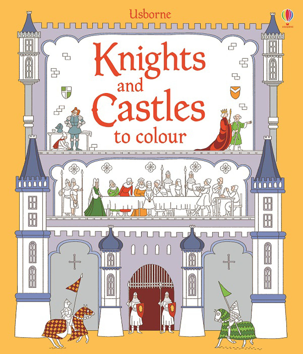 Knights and Castles to Colour knights of sidonia volume 6