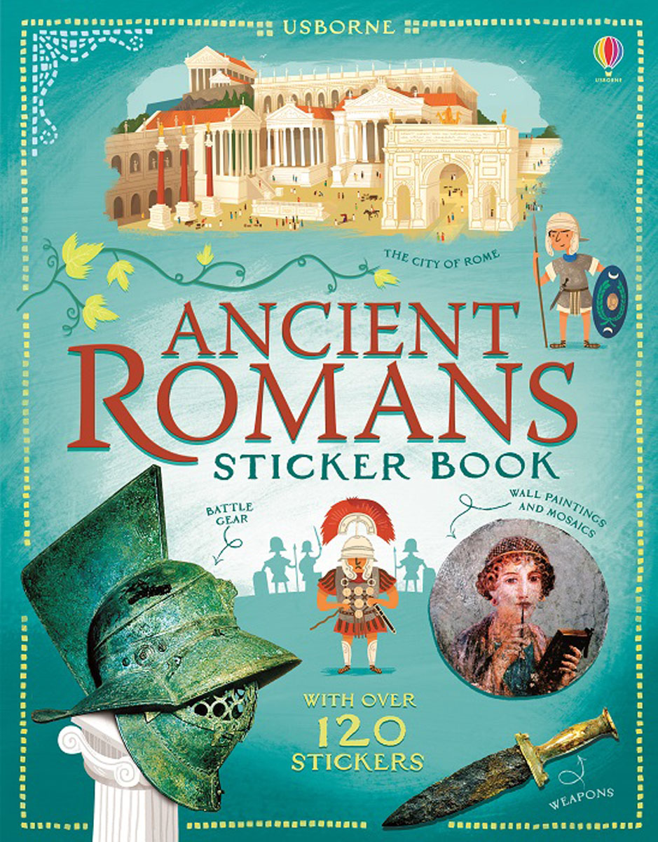 Ancient Romans Sticker Book ancient rome the rise and fall of an empire