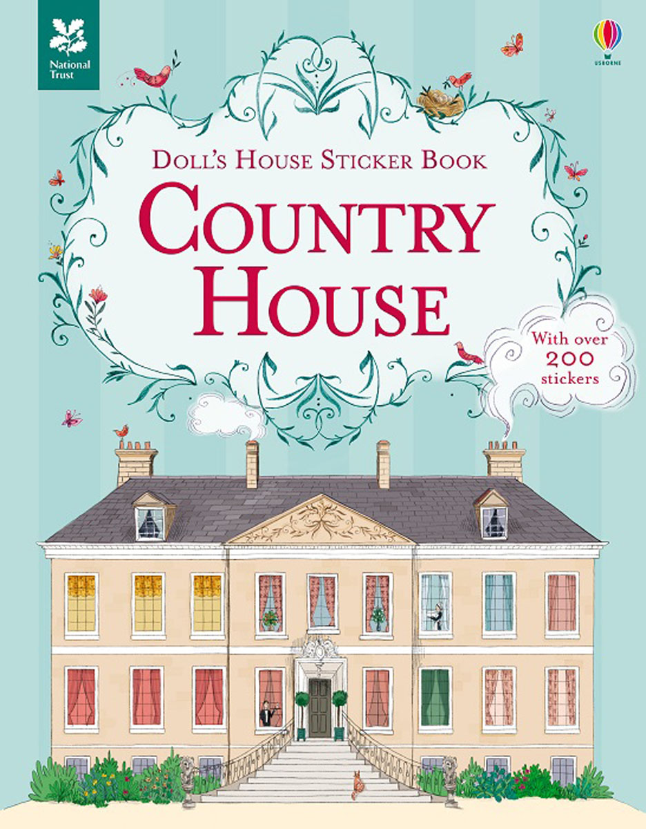 Doll's House Sticker Book Country House sarah warner brooks a garden with house attached