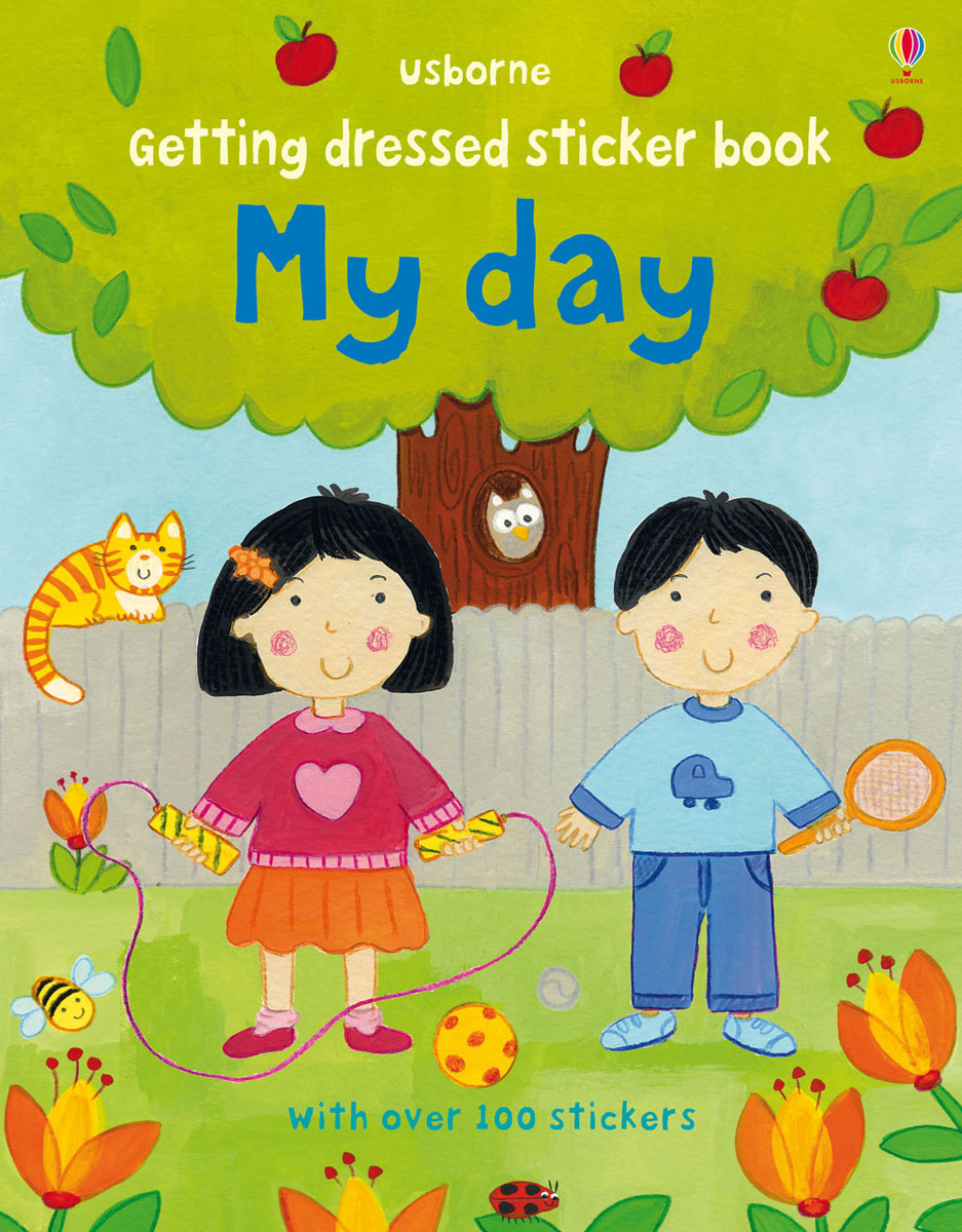 Getting Dressed: Sticker Book: My Day the little book of batman