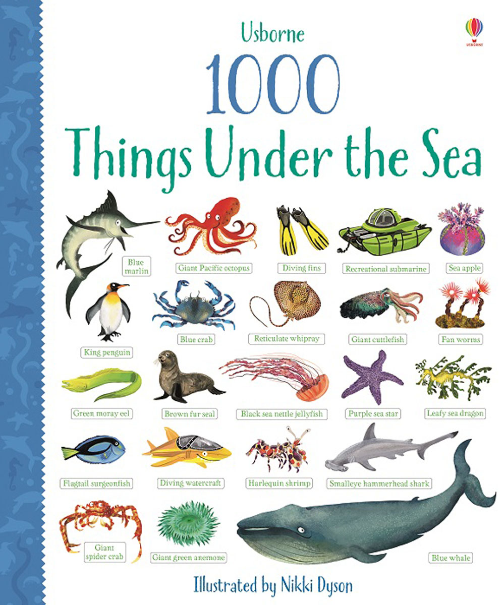 Usborne 1000 Things Under the Sea verne j 20000 leagues under the sea theacher s book