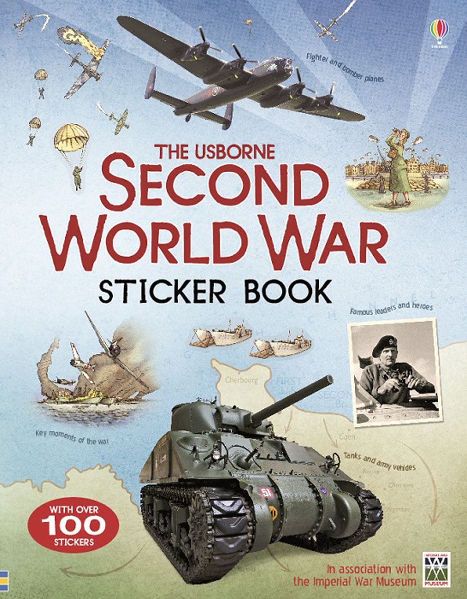 Second World War Sticker Book the economics of world war i