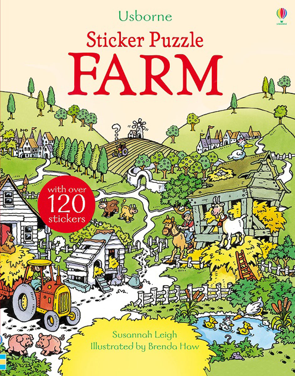 Sticker Puzzle Farm maisy s farm sticker book