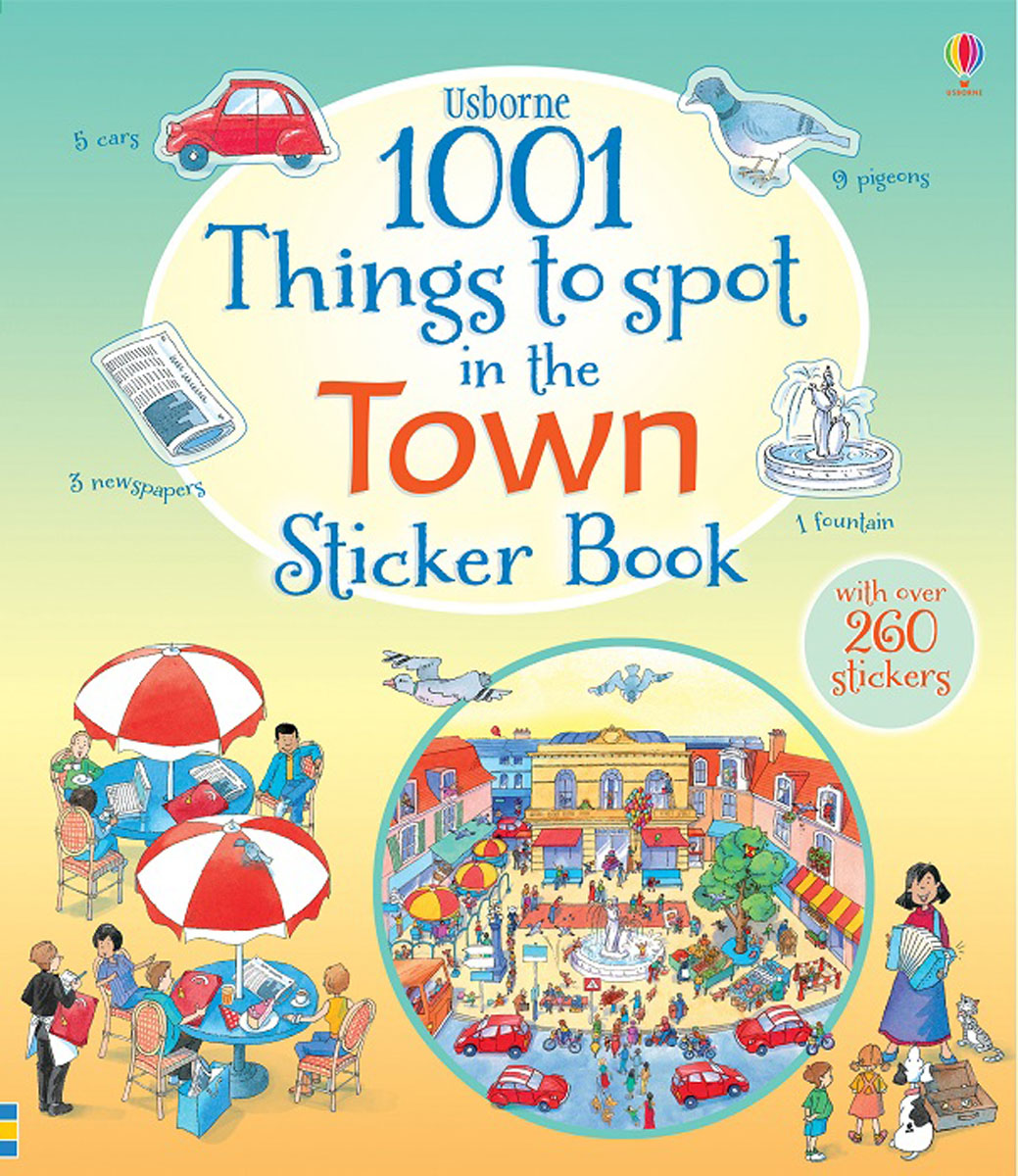 1001 Things to Spot in the Town Sticker Book town talk anti tarnish silver polishing cloth 13 x 18cm by town talk