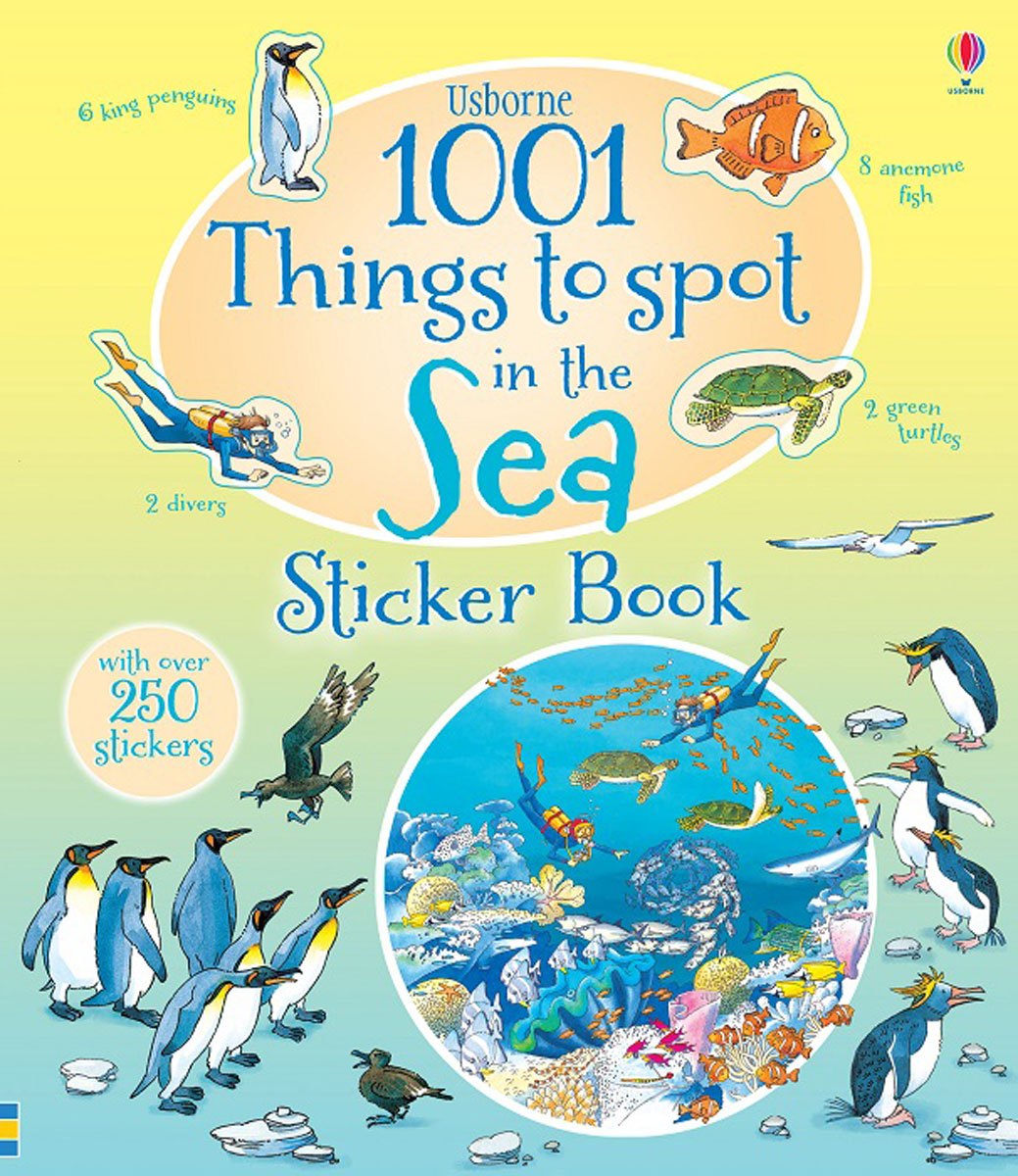 1001 Things to Spot in the Sea Sticker Book verne j 20000 leagues under the sea theacher s book