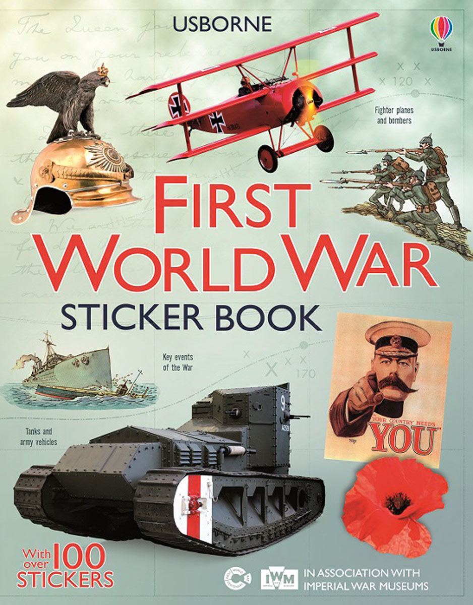 First World War Sticker Book the economics of world war i