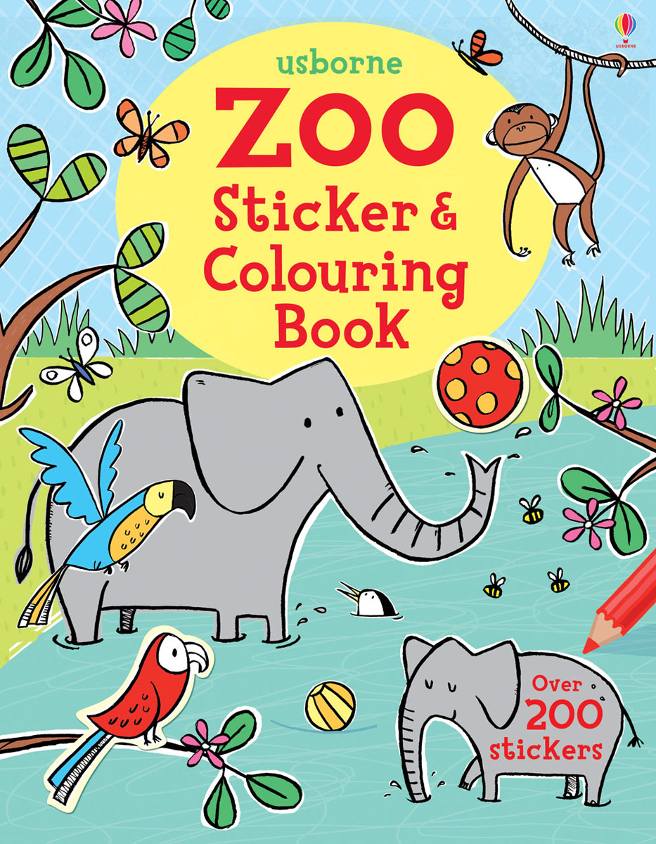 Zoo Sticker and Colouring Book the cat in the hat sticker activity book