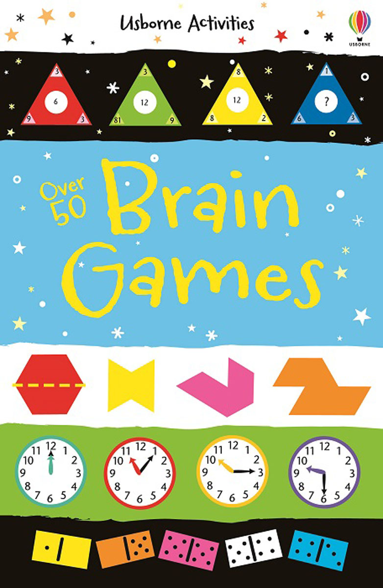 Over 50 Brain Games boats puzzle books
