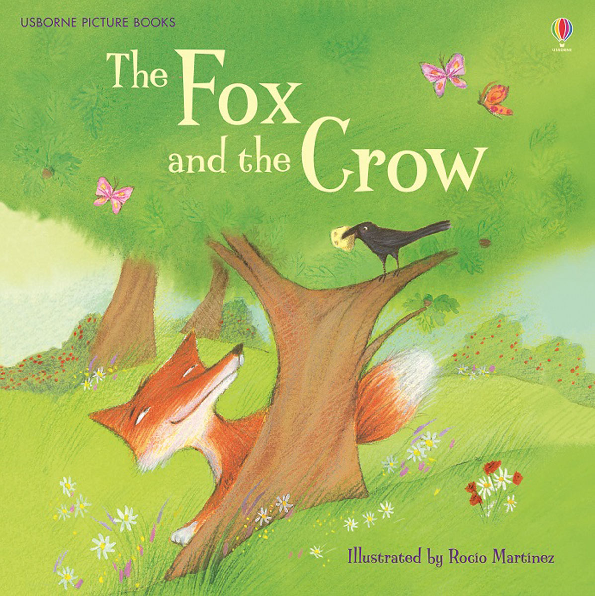The Fox and the Crow sly fox and red hen activity book level 2