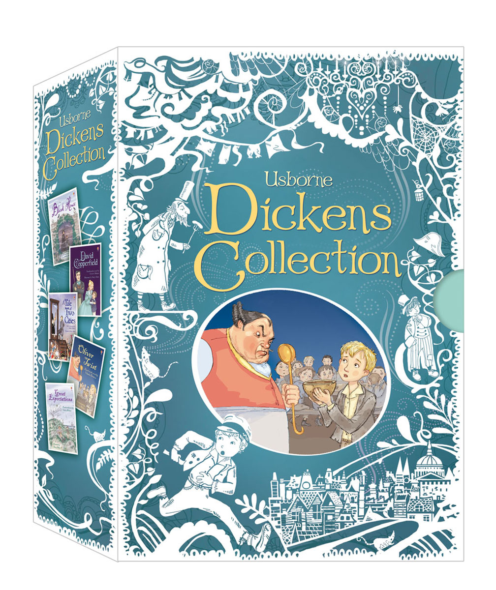 Dickens Collection Gift Set dickens c oliver twist level 1 reader cd