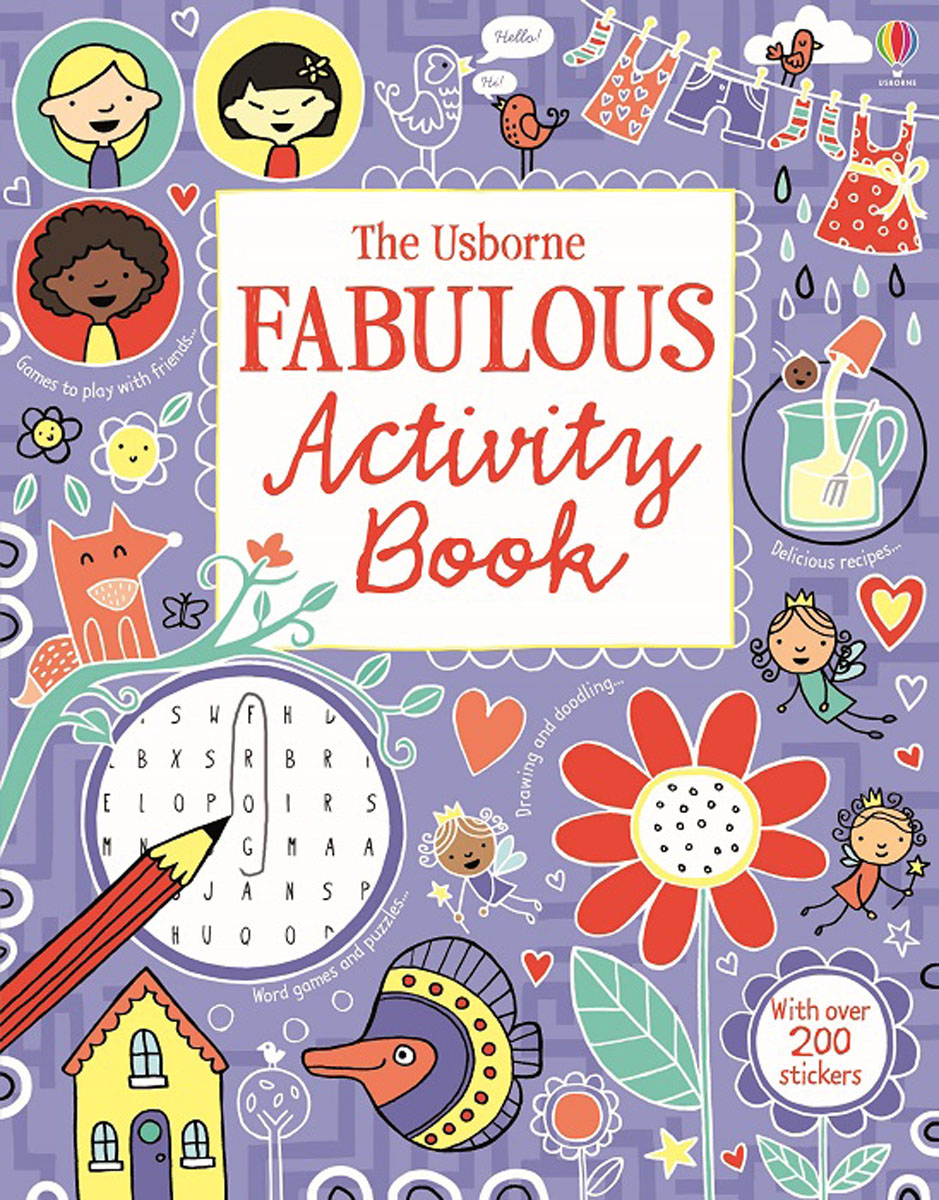 The Usborne Fabulous Activity Book 1001 things to spot in the sea