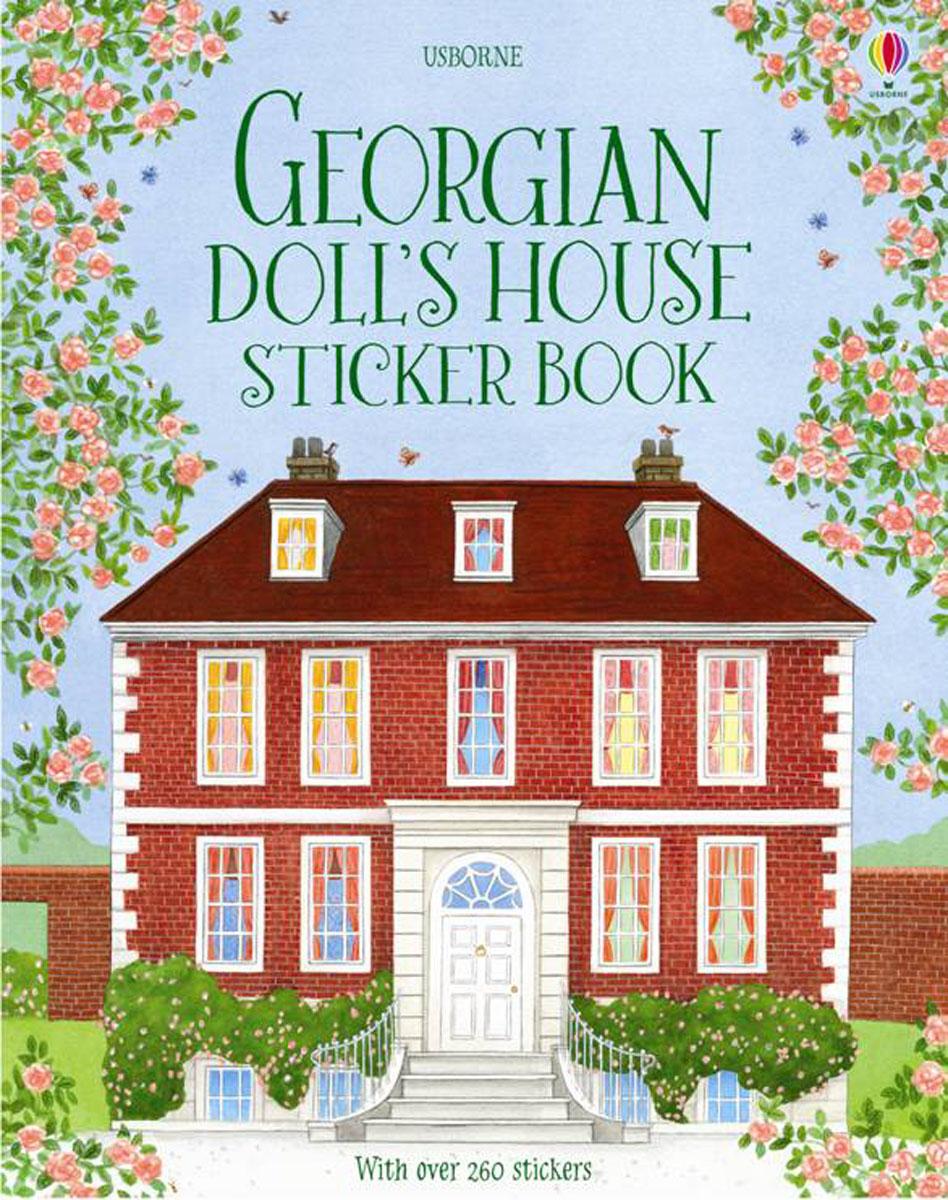 Georgian Doll's House Sticker Book georgian kitchen