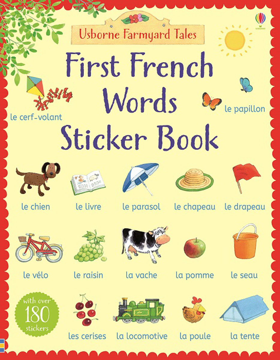 Farmyard Tales First French Words Sticker Book maisy s farm sticker book