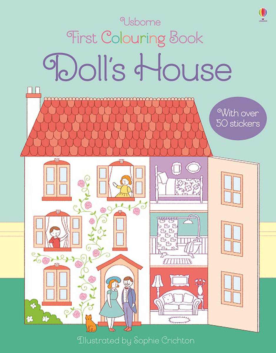 First Colouring Book Doll's House first colouring book nativity