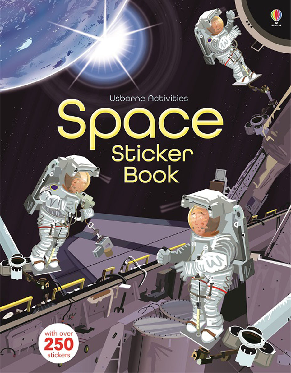 Space Sticker Book the book of space