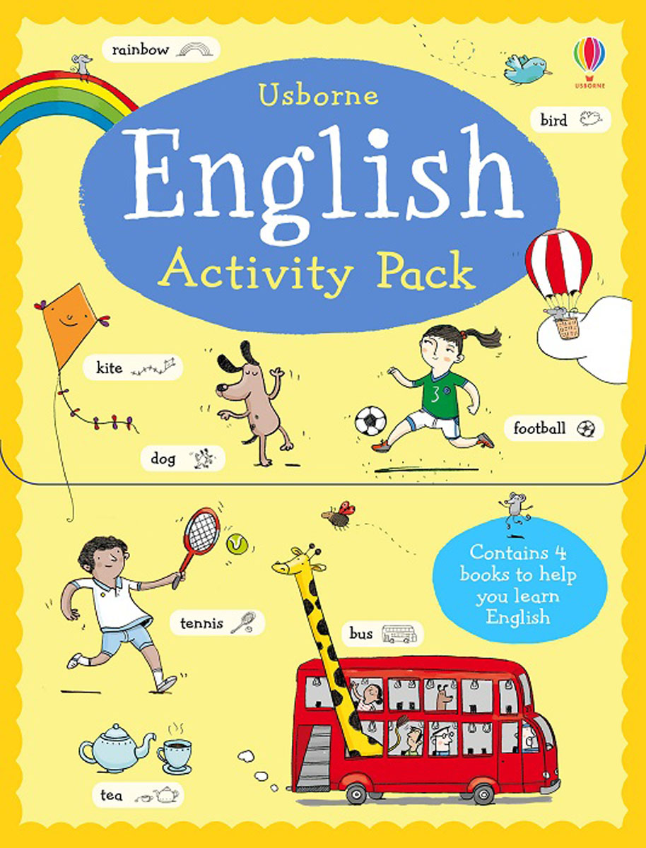 English Activity Pack first hundred words in english sticker book