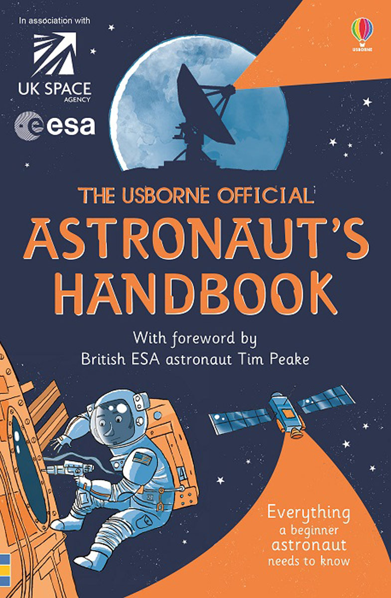 The Astronaut's Handbook toys in space