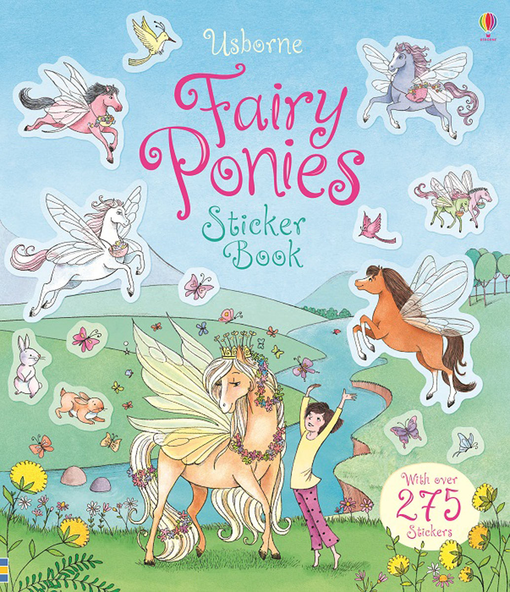 Fairy Ponies: Sticker Book samuel richardson clarissa or the history of a young lady vol 8