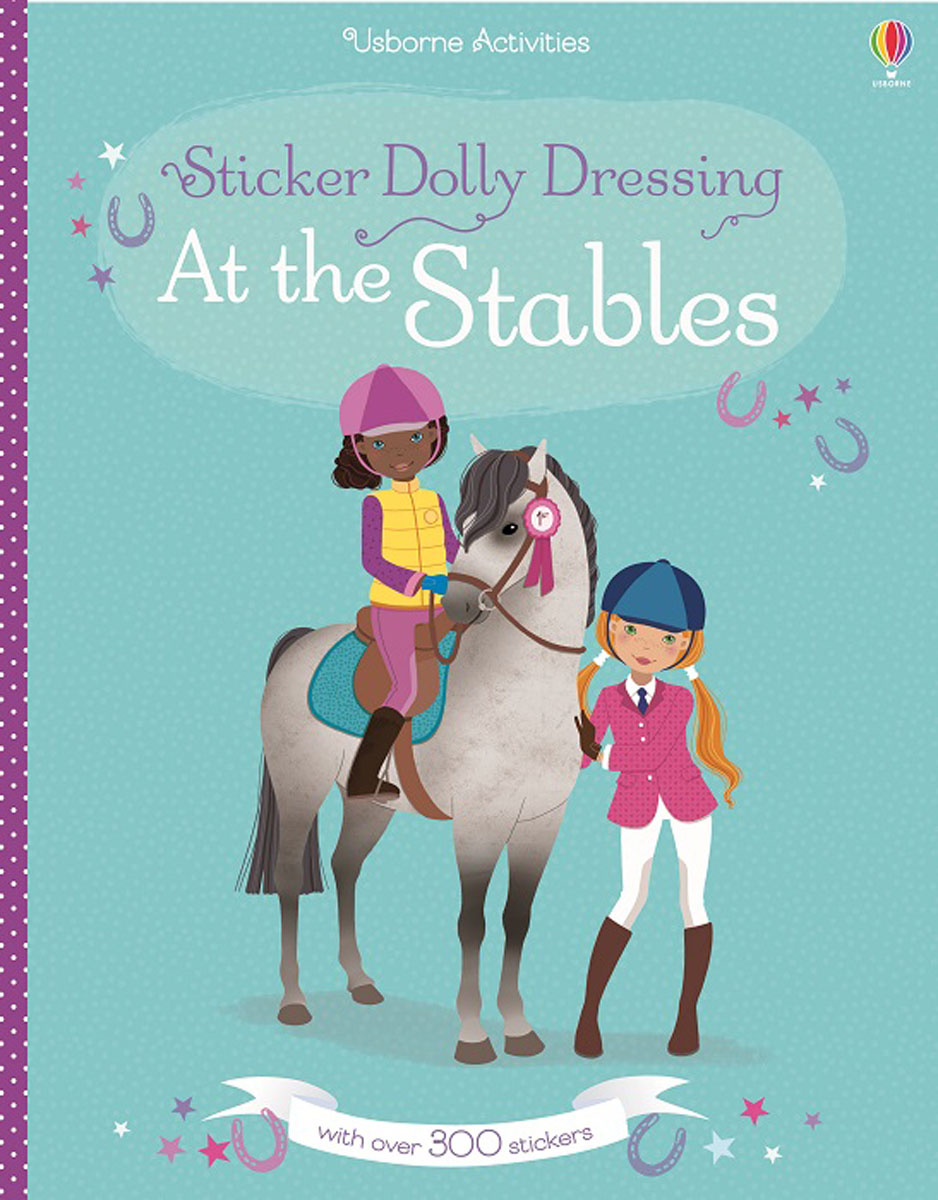 Sticker Dolly Dressing At the Stables sticker dolly dressing fancy dress