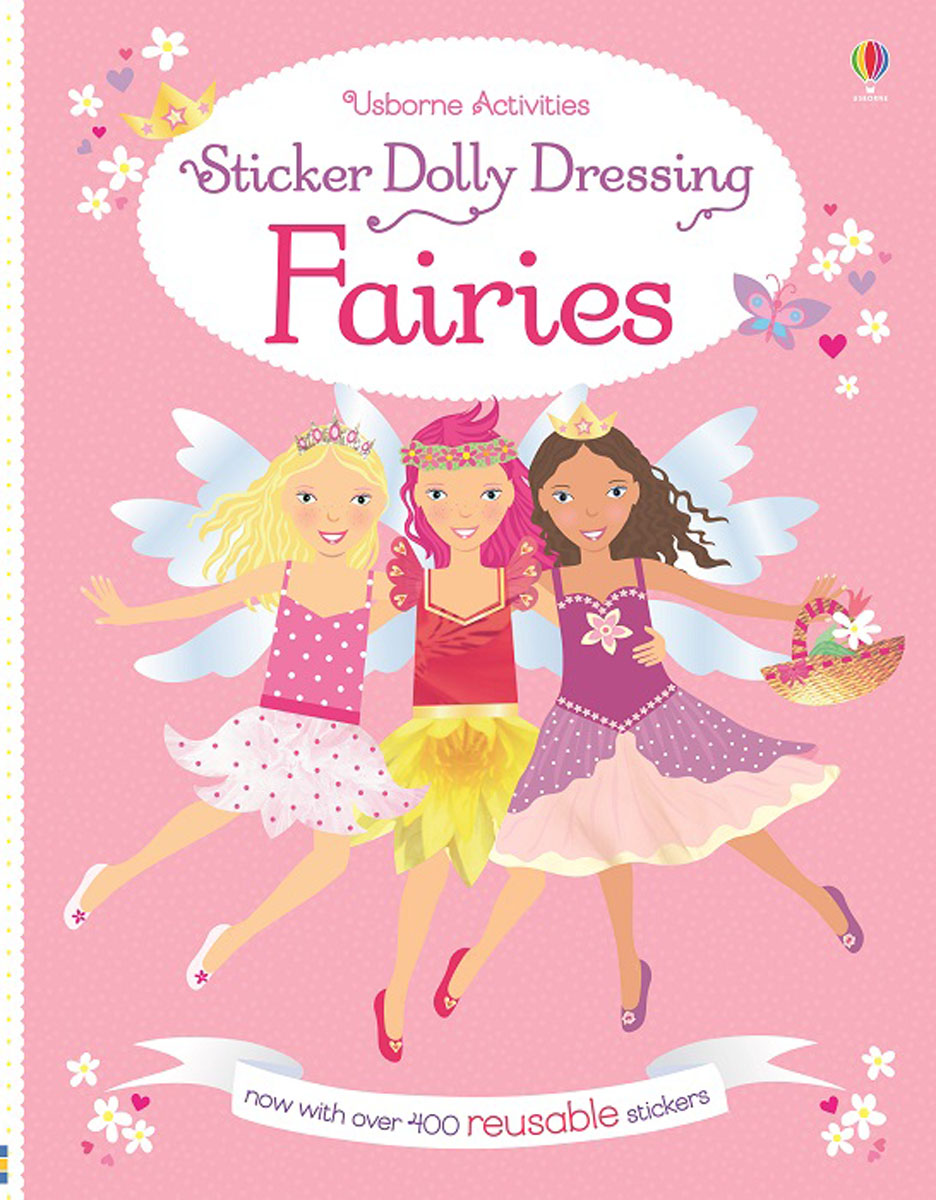 Sticker Dolly Dressing Fairies fairy ponies sticker and colouring book
