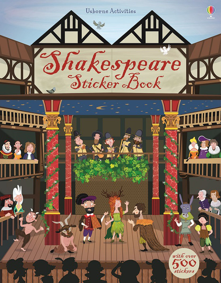 Shakespeare Sticker Book shakespeare william rdr cd [lv 2] romeo and juliet