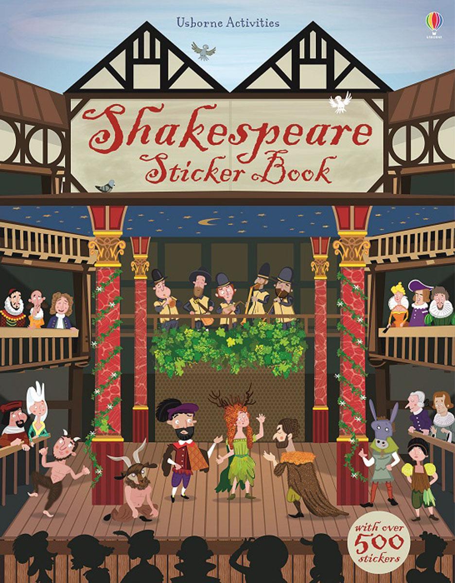 Shakespeare Sticker Book hamlet by william shake speare 1603 hamlet by william shakespeare 1604