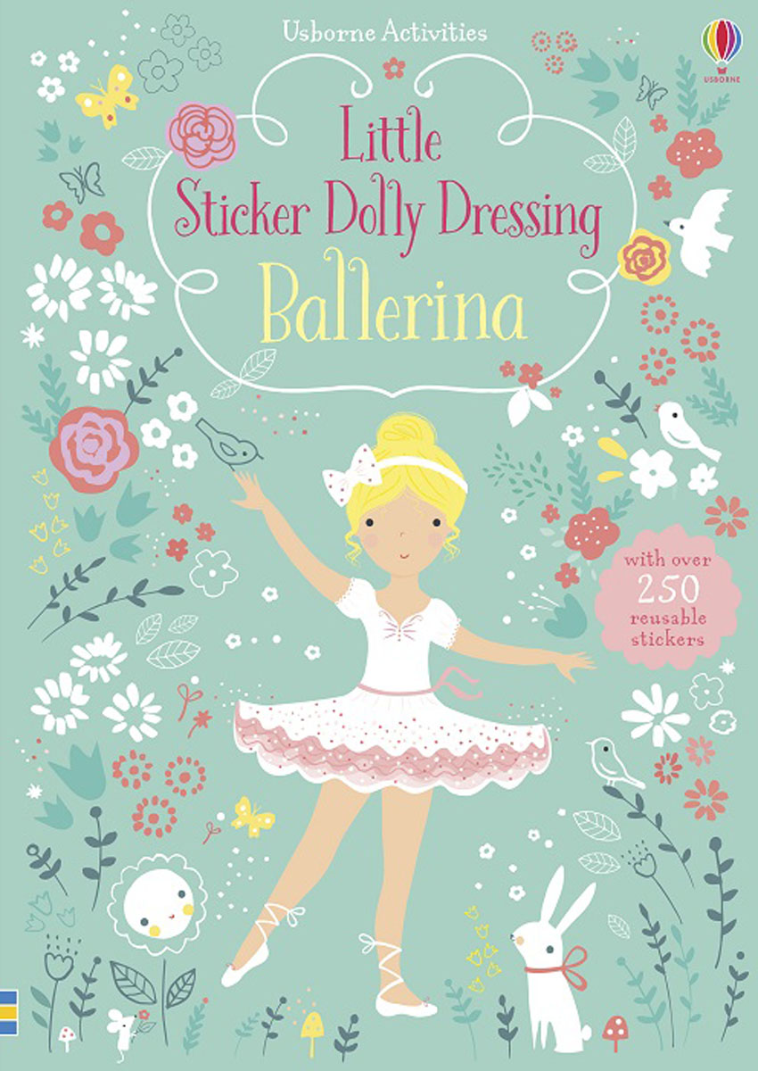 Little Sticker Dolly Dressing Ballerina little children s knights and castles activity book