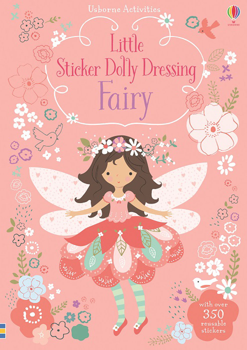 Little Sticker Dolly Dressing Fairy little children s knights and castles activity book