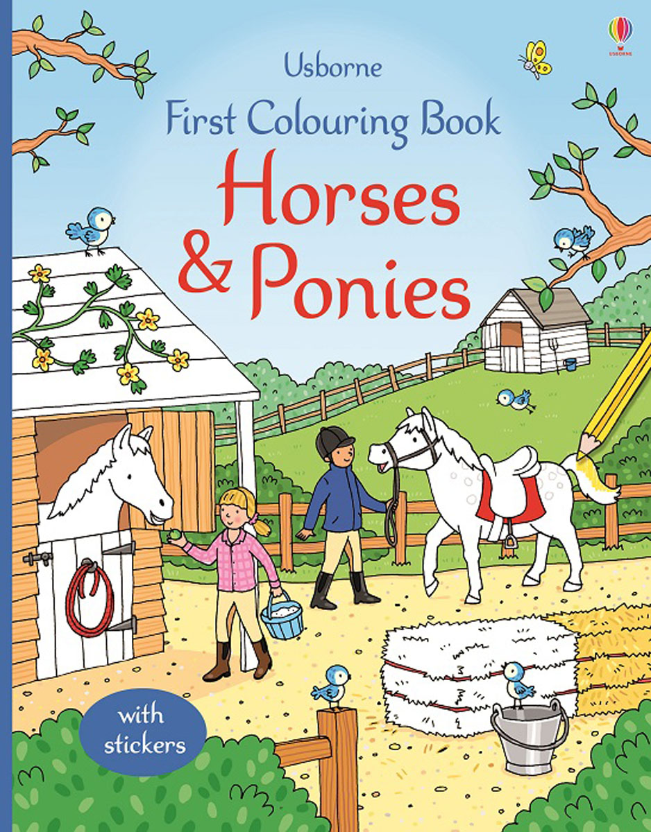 First Colouring Book Horses and Ponies недорого