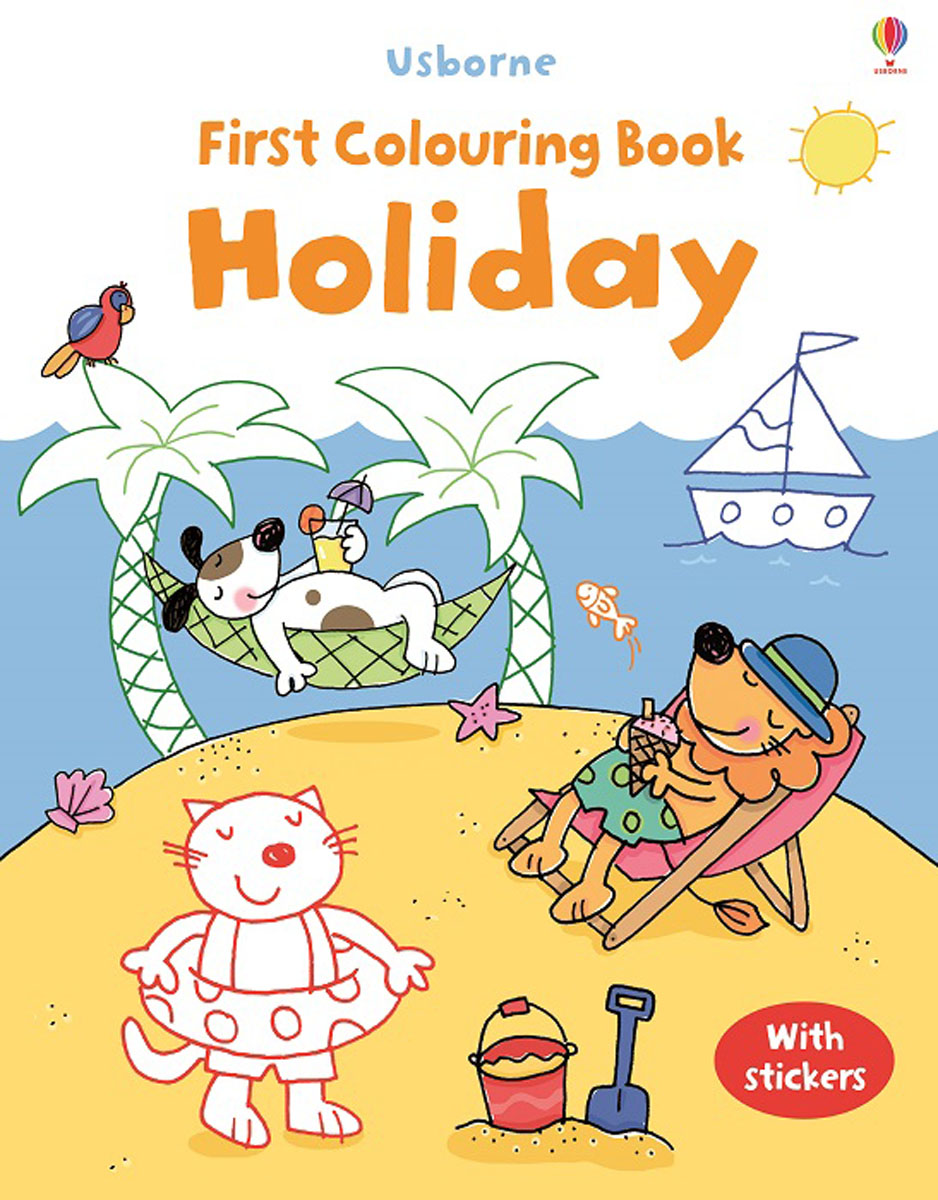 First Colouring Book Holiday first colouring book nativity
