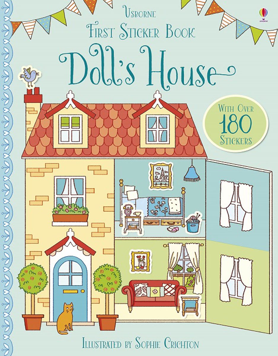 First Sticker Book Doll's House first sticker book cities of the world