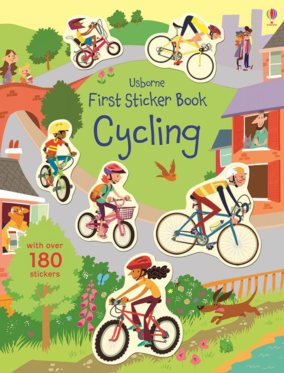 First Sticker Book Cycling first sticker book cities of the world