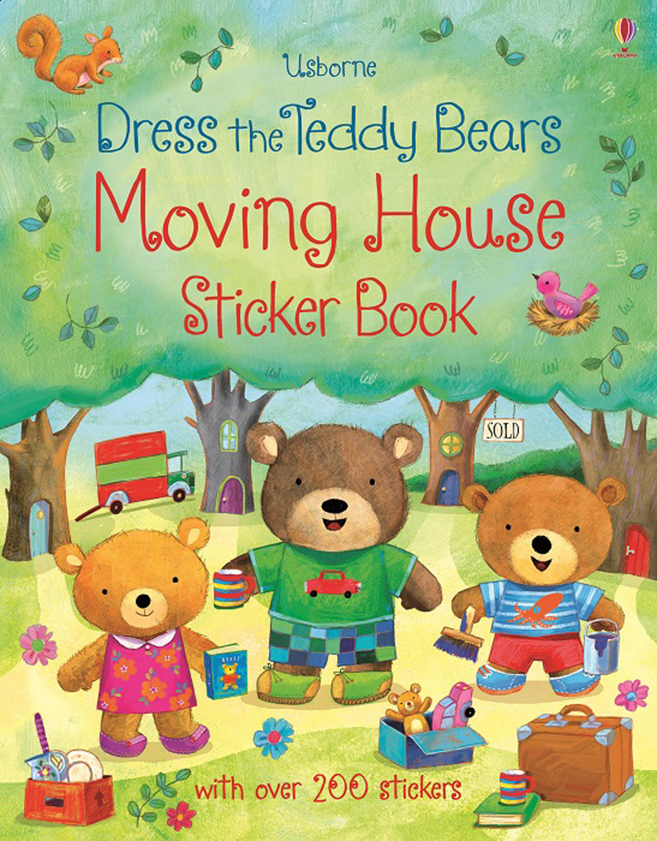 Dress the Teddy Bears: Moving House: Sticker Book teddy mars book 3 almost an outlaw