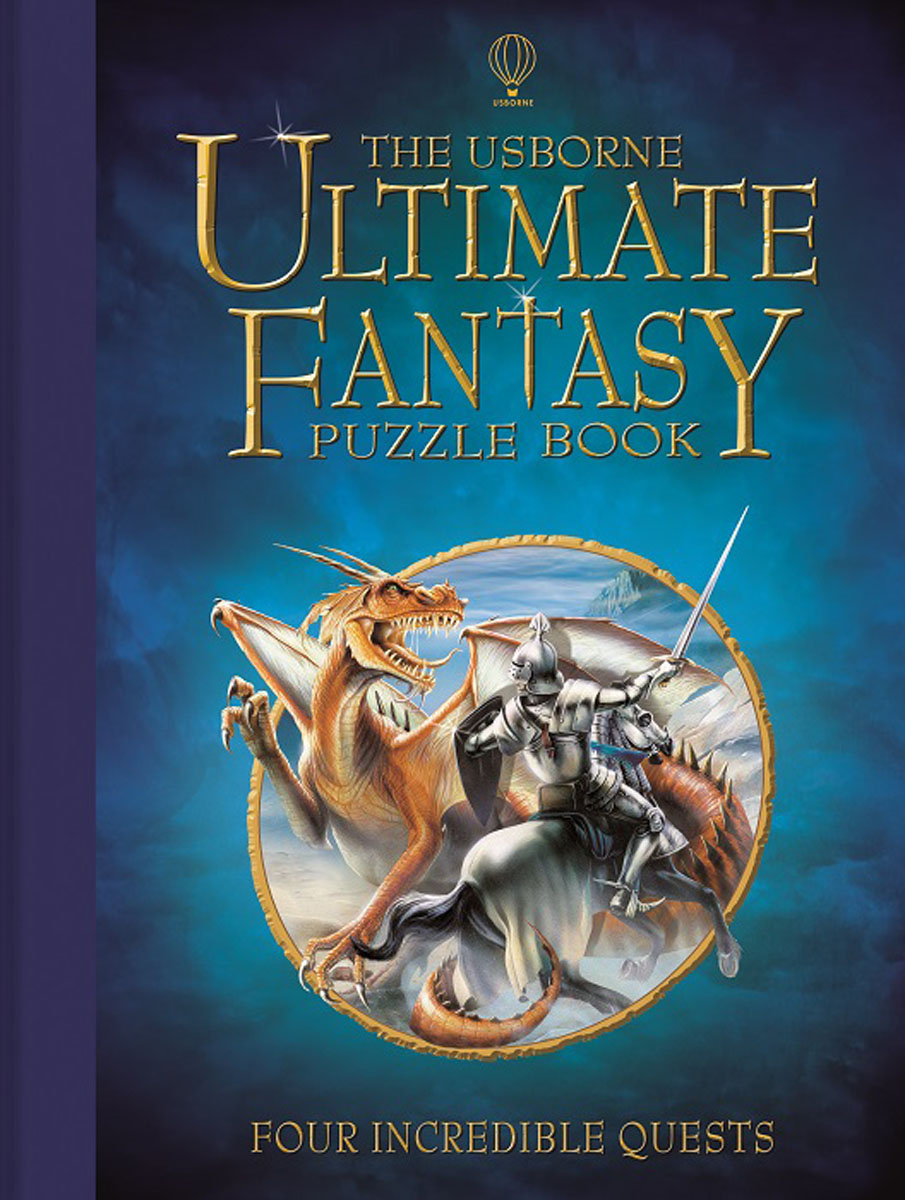 Usborne Ultimate Fantasy Puzzle Book ralph compton ride the hard trail