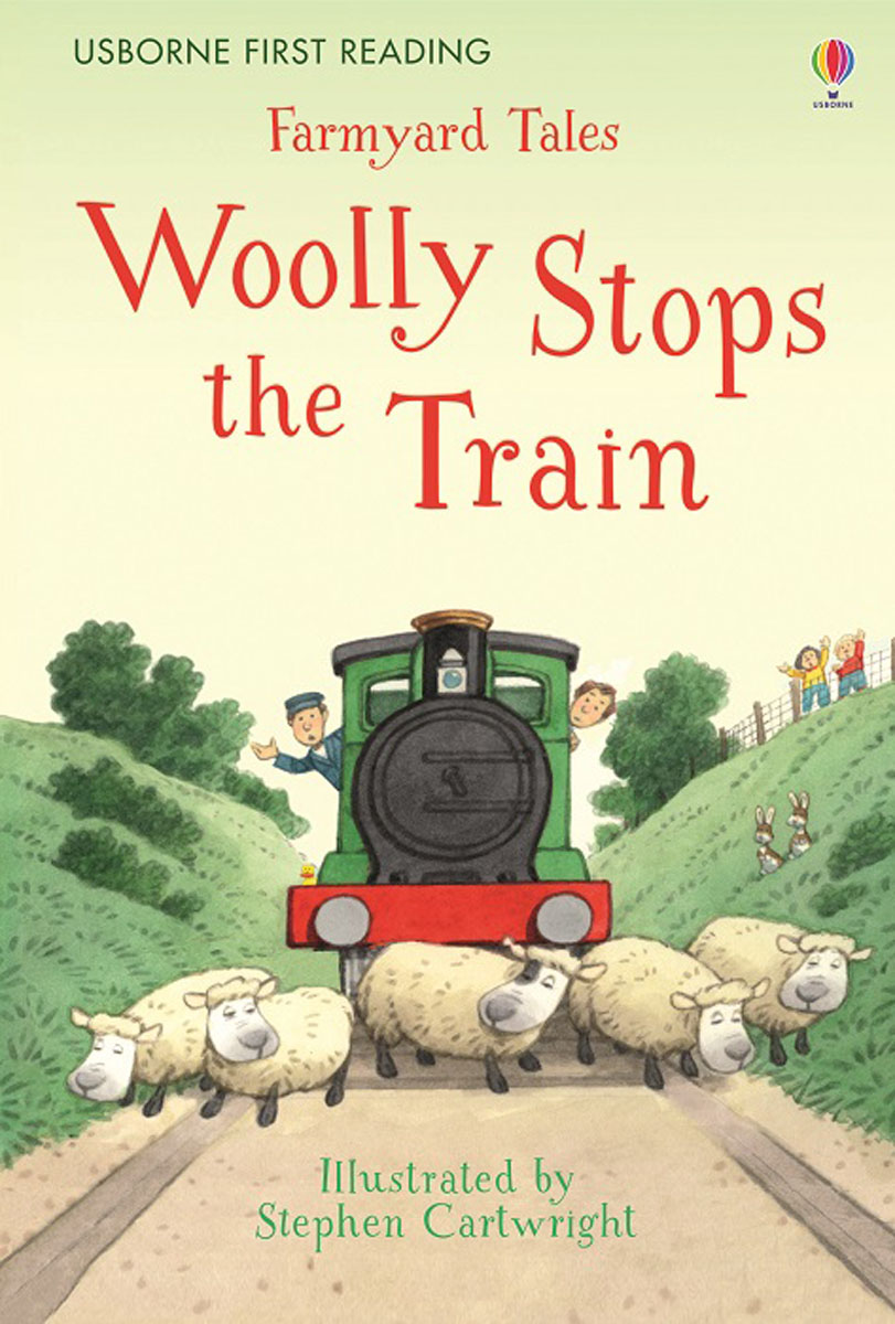 Farmyard Tales Woolly Stops the Train farmyard tales the silly sheepdog