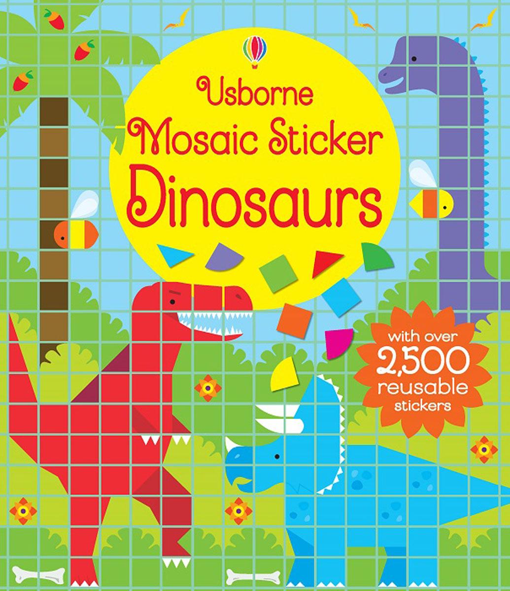 Mosaic Sticker Dinosaurs ultimate sticker book dangerous dinosaurs