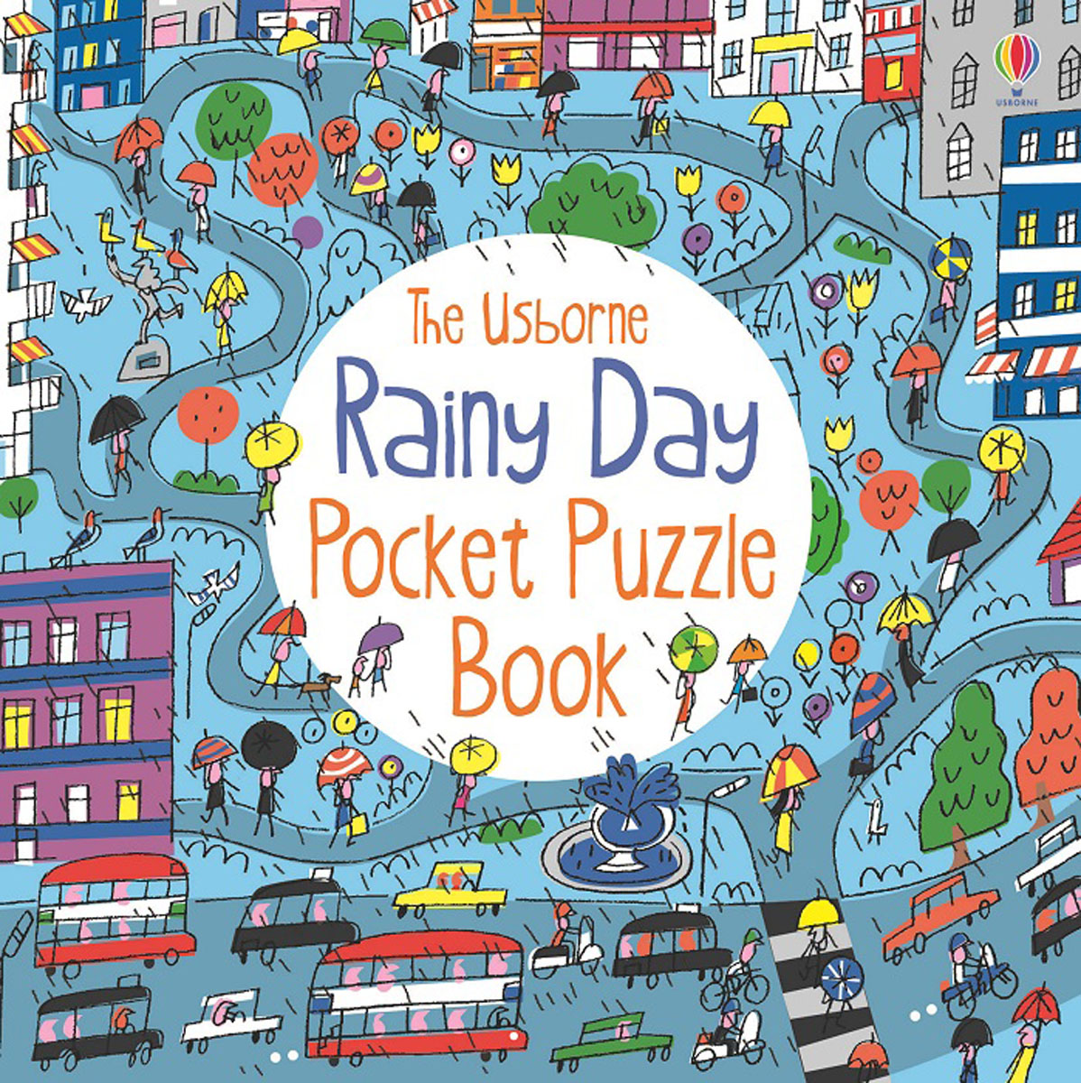 Rainy Day Pocket Puzzle Book where have you been