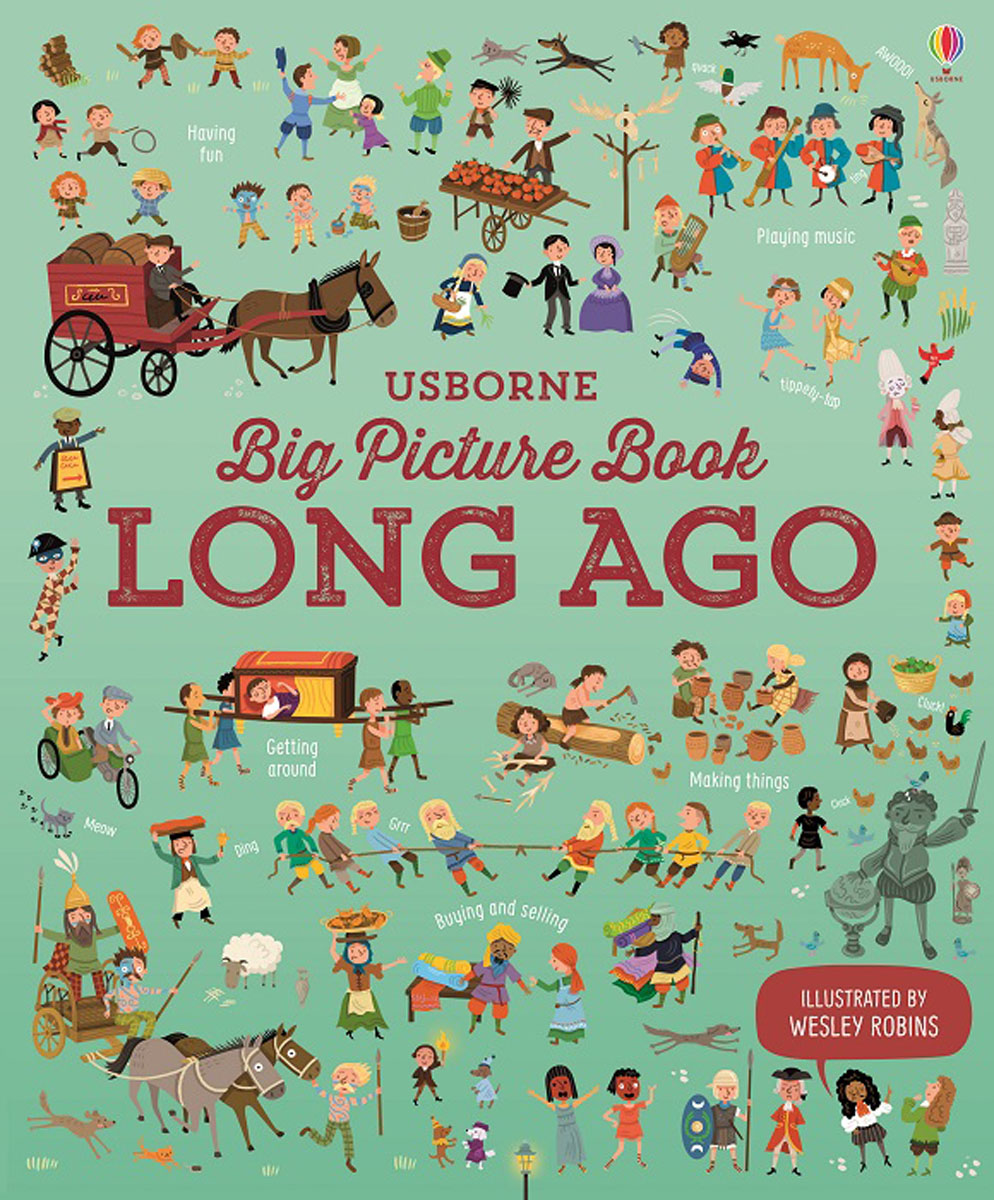 Big Picture Book of Long Ago evolution development within big history evolutionary and world system paradigms