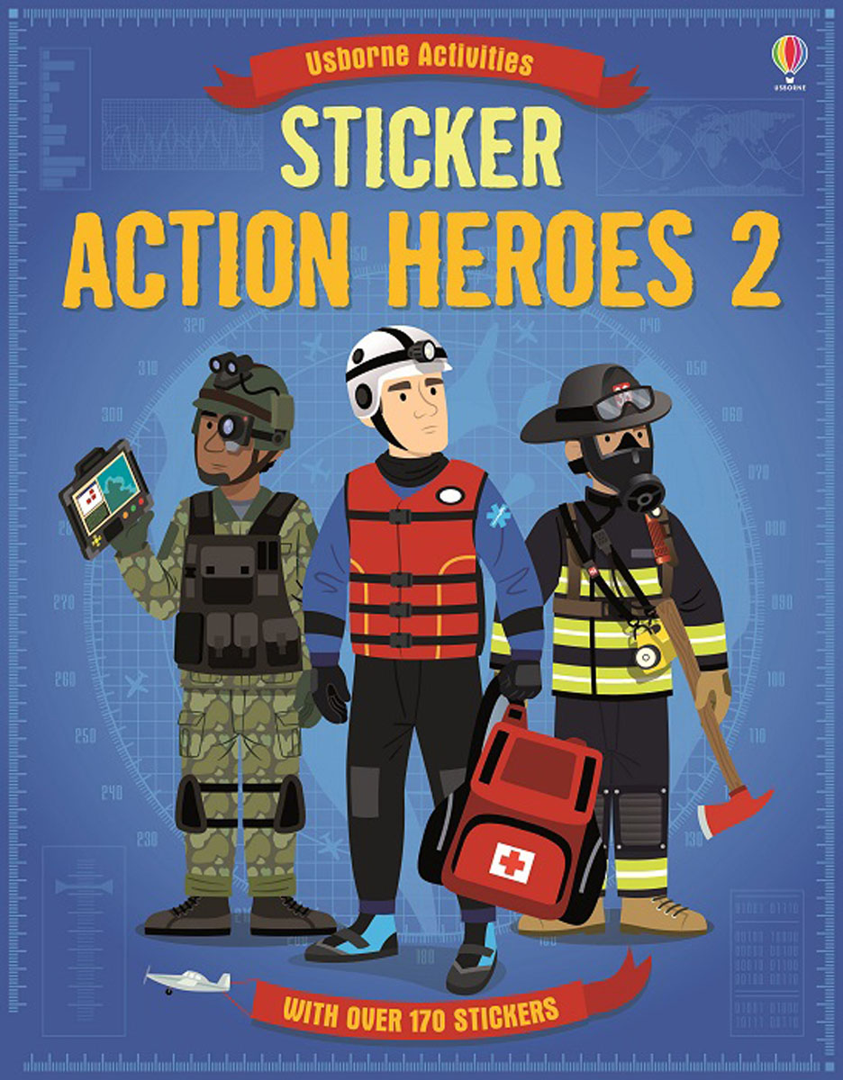 Sticker Action Heroes 2 heretics and heroes