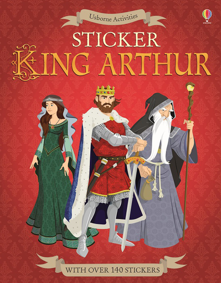 Sticker King Arthur patrick p the curious charms of arthur pepper
