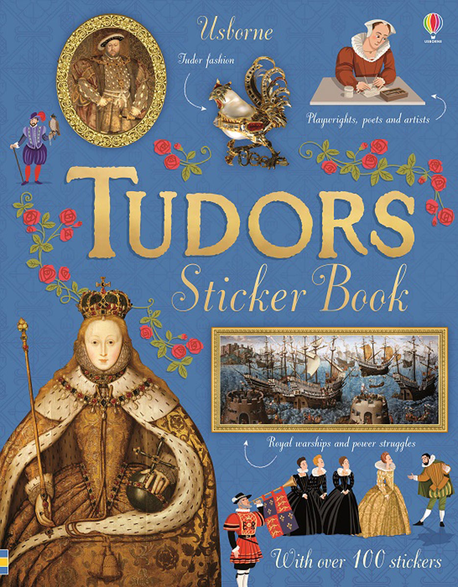 Tudors Sticker Book the usborne terrific colouring and sticker book
